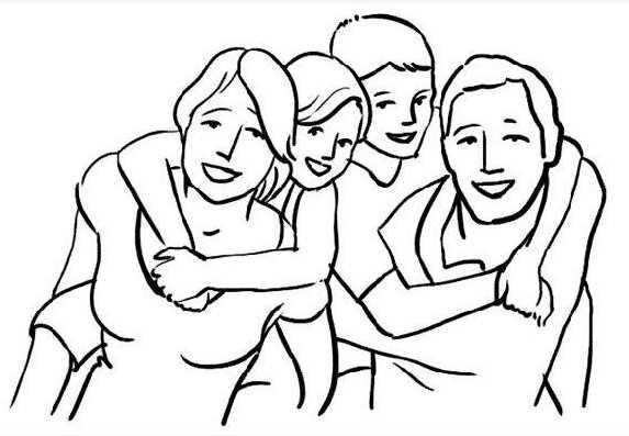 Фото семьи в полный рост