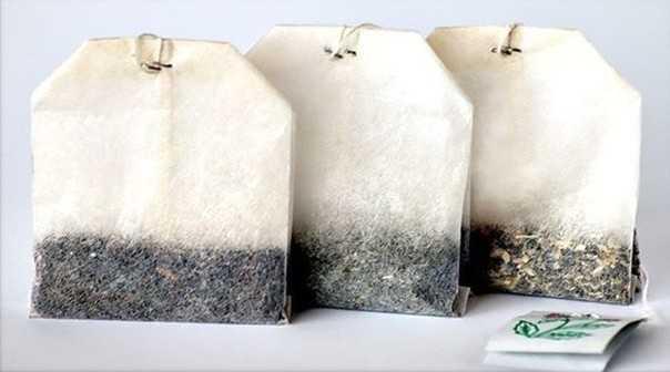 Чайные пакетики как освежитель воздуха